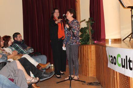 Mª Ángeles Robles y Mª Jesús Ruiz.