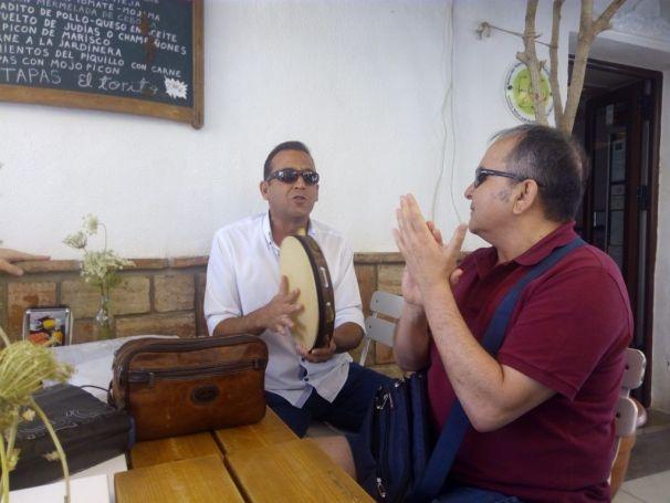 osé Manuel Fraile (en primer plano) y Luis Espinar. Foto: María Jesús Ruiz.