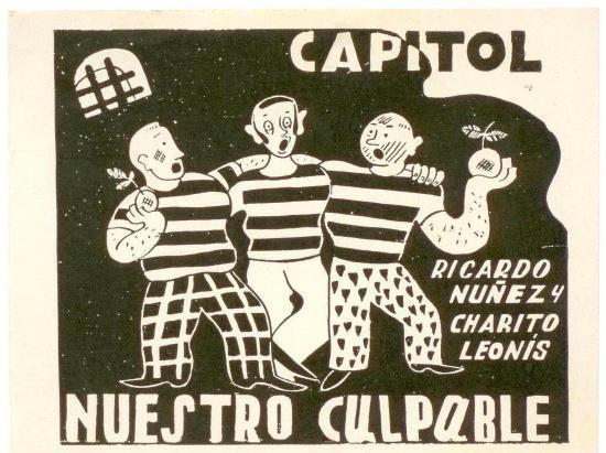 Un afiche de 'Nuestro culpable'.