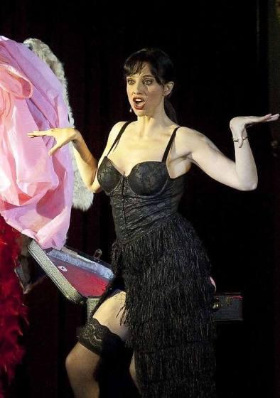 La actriz lleva sobre los escenarios desde los viente años.