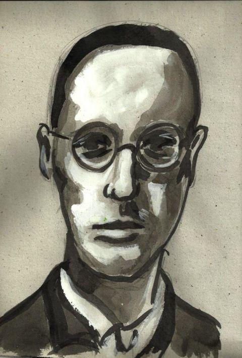 Francisco Lambrea Burgos. Retrato de Manuel Martín Morgado.