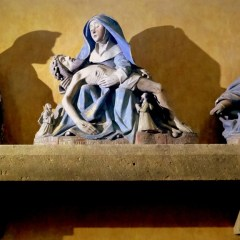 La Piedad de la abadía de Moissac: delicada tragedia contenida
