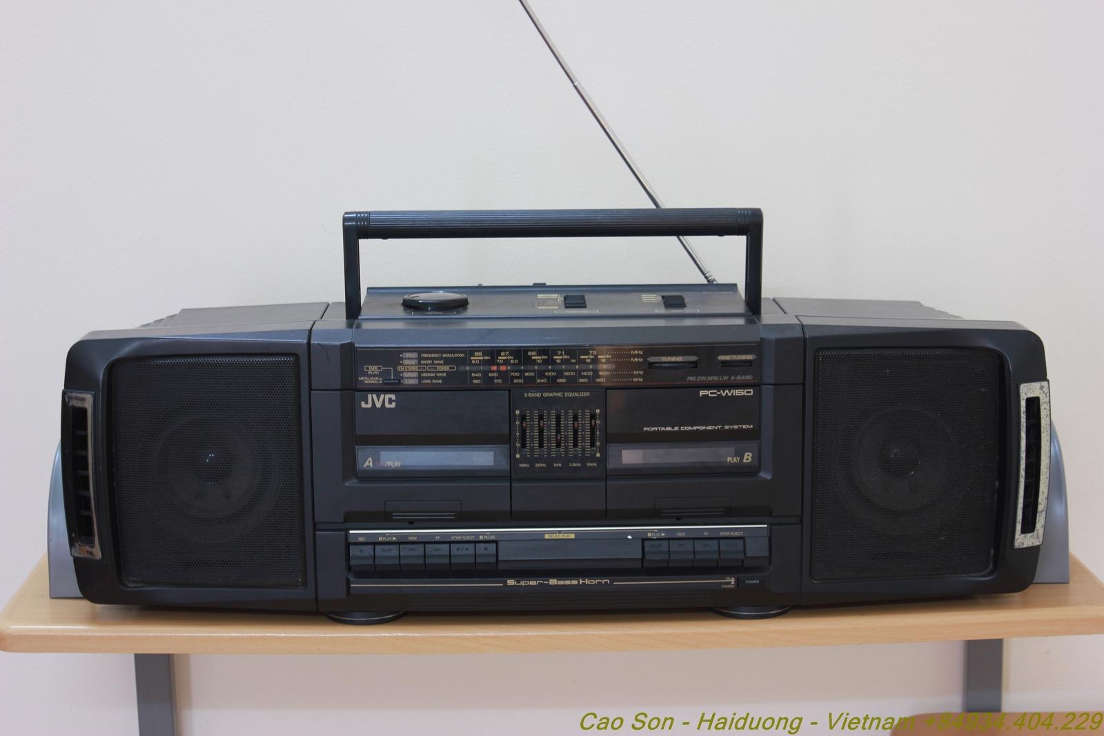 Album Jvc Radio Cassette Pc W150