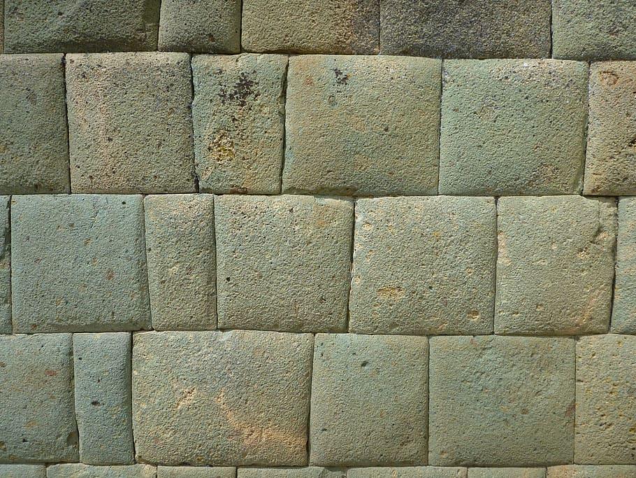 Muro característico de la arquitectura inca