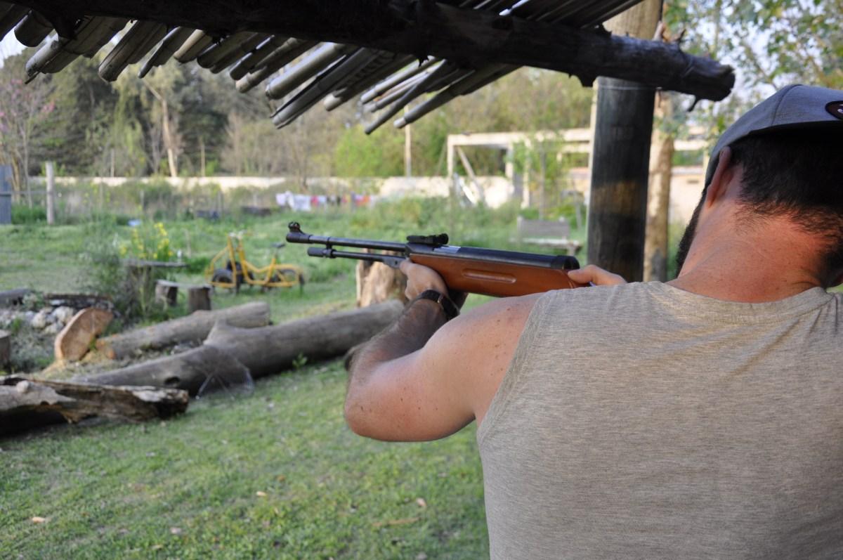 J+24 Tirer à la carabine