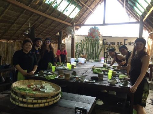 J+219 Cours de cuisine laotien !