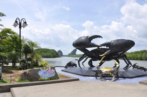 J+268 Trouver la statue de Crabe !