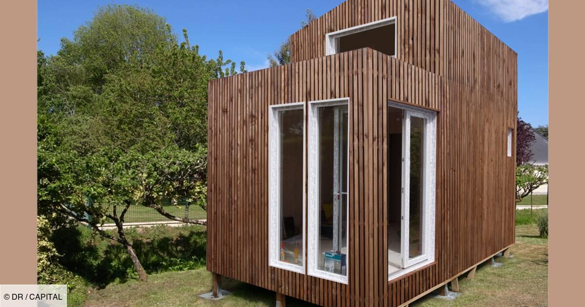 greenkub une maison dans votre jardin
