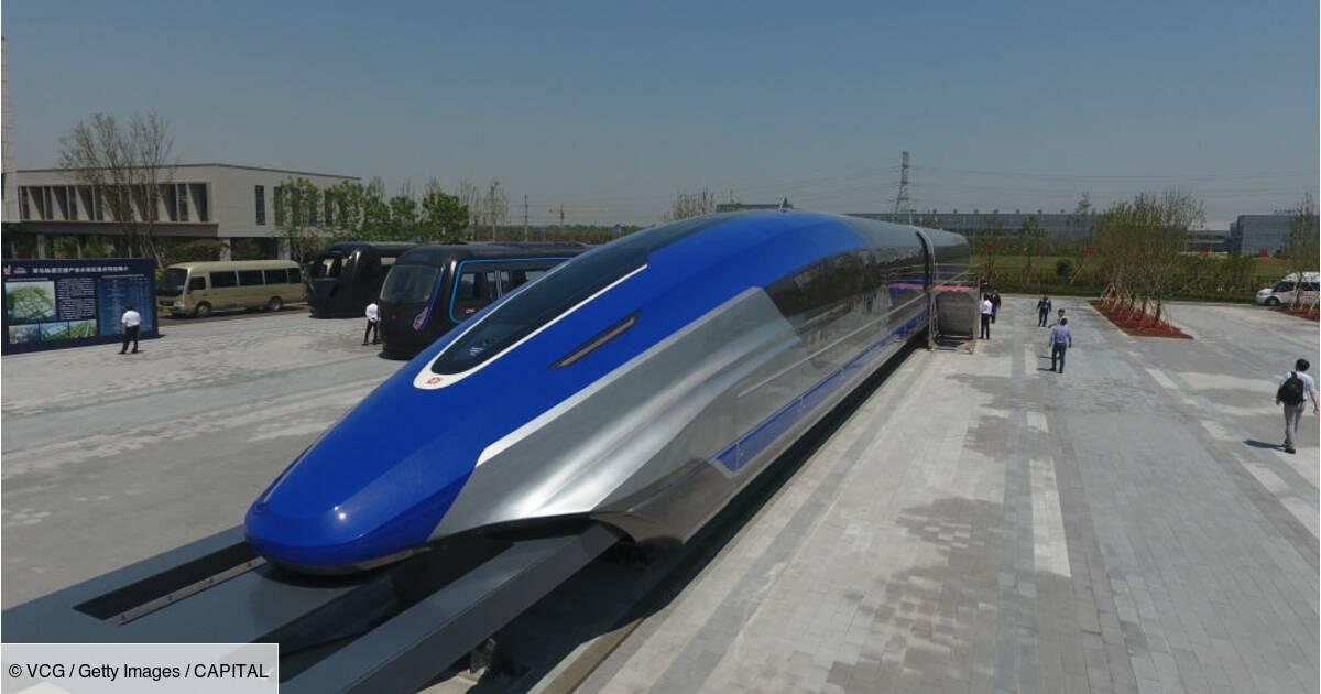 des trains circulant a plus de 600km h