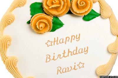 Birthday Cake With Name Ravi - impremedia.net