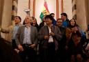 Evo Morales agradece al pueblo boliviano por el respaldo en las elecciones