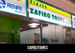 'Zafiro Tours', Agencia de Viajes oficial de Capacitanes