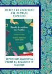Marché de Créateurs des Ramblas : Reprise du marché artisanal sur les allées Jean-Jaurès à Toulouse après le confinement