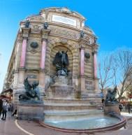 Fontaine Saint Michel, Paris