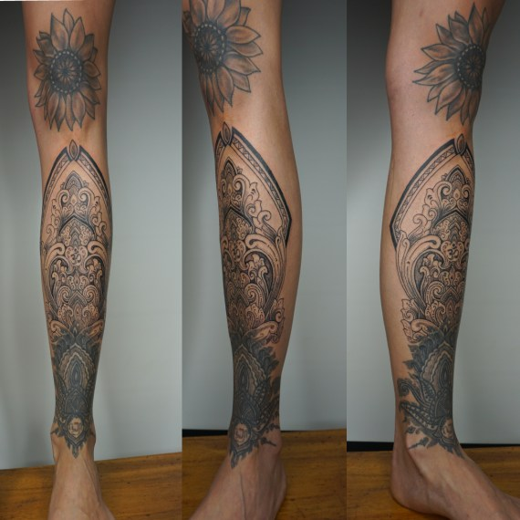 Indonesian tattoo motif