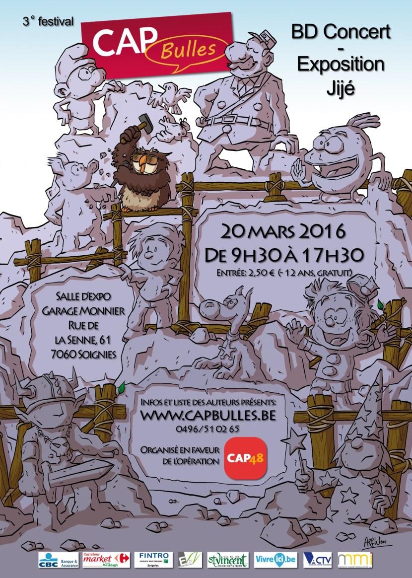 Affiche CAP Bulles 2016
