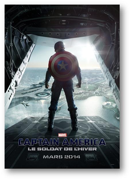Captain America Et Le Soldat De L'hiver : captain, america, soldat, l'hiver, Captain, America,, Soldat, L'hiver, D'Anthony, Russo, Salles, Mars.