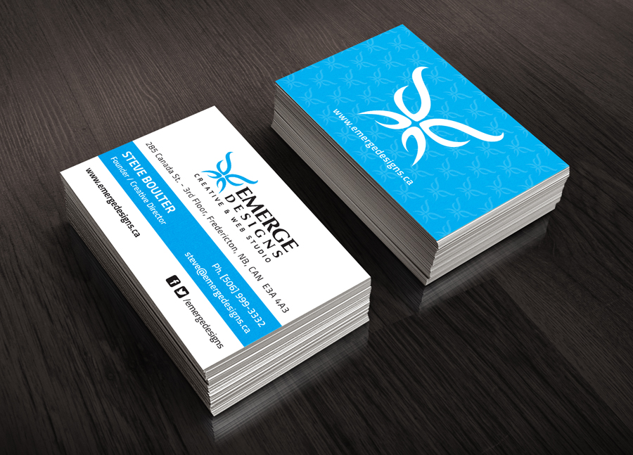 Creating a great business card cap city creative co fredericton a business card is an integral part of any good marketing plan for its size and cost its probably the most powerful part of course you cant expect reheart Choice Image