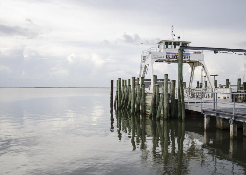 Davis NC Ferry  Cape Lookout Vehicle  Truck Ferry
