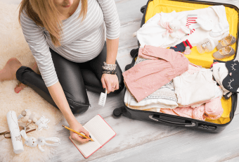 Hospital Bag Checklist, For Mom To Be