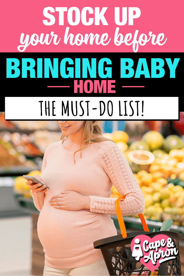 Stock Up Before Baby Arrives