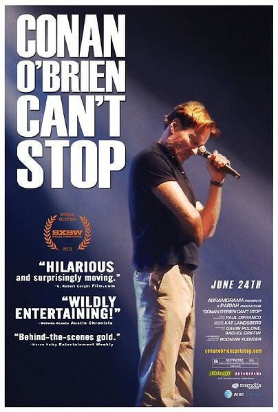 """Conan O'Brien Can't Stop"" runs August 12-25."