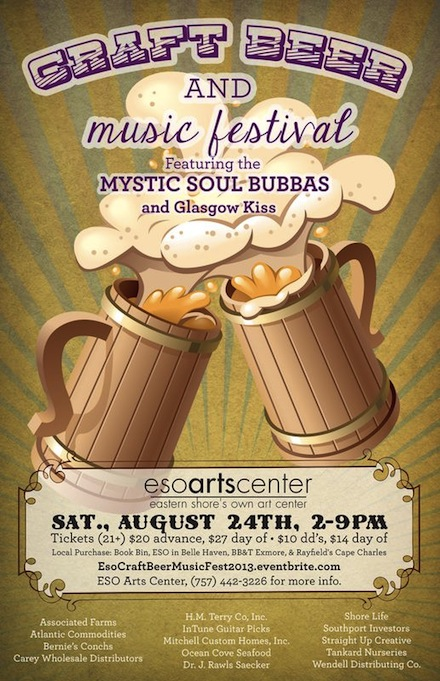 SATURDAY 824 Craft Beer  Music Festival at ESO Arts