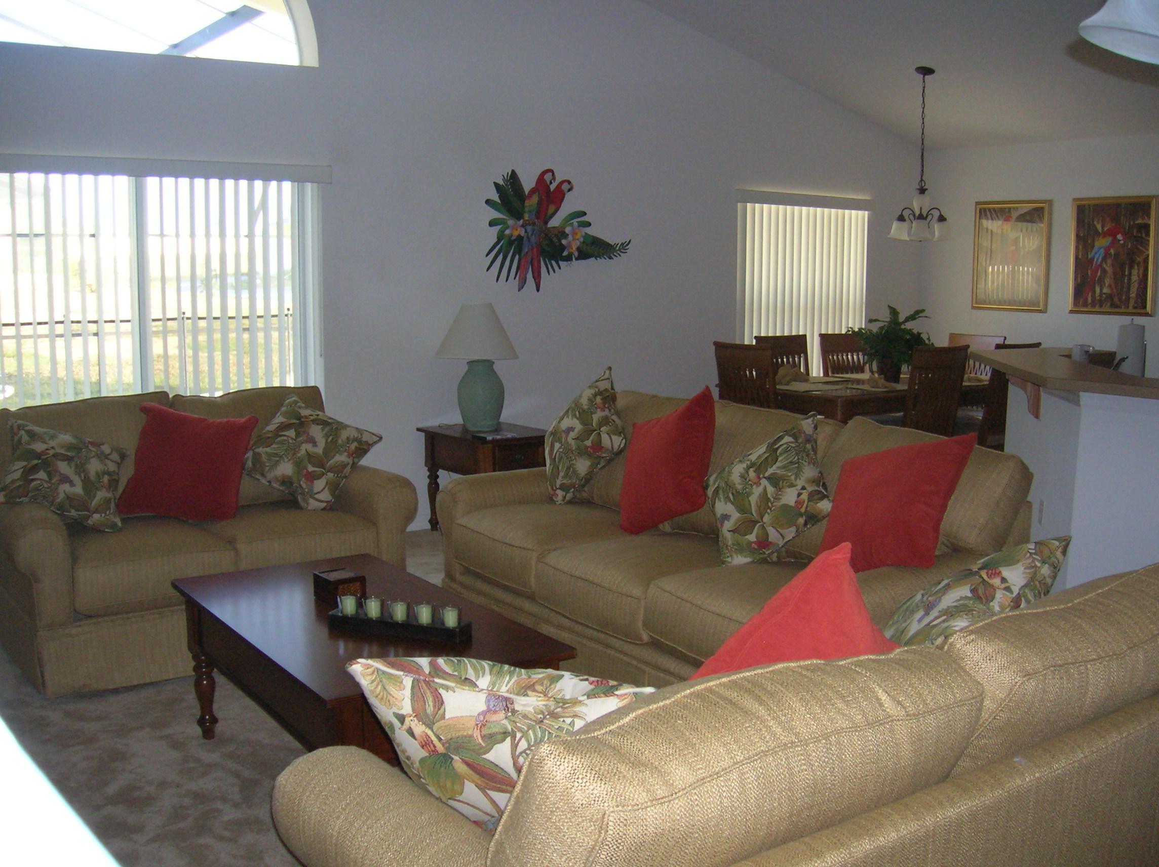 Living Room  Capeclear Villa