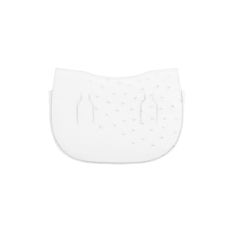 Fallow Beltbag in White Ostrich 4