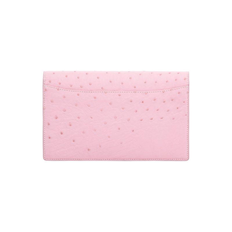 Ivy in Powder Pink Ostrich 3