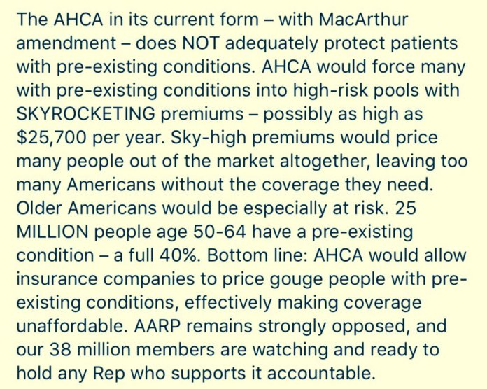 FROM AARP