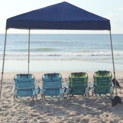 Beach Chairs And Umbrella Singing Potty Chair Family 4 Pack Wrightsville Cabana