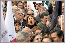 Manifestação deprofessores