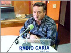António Robalo em entrevista à Rádio Caria