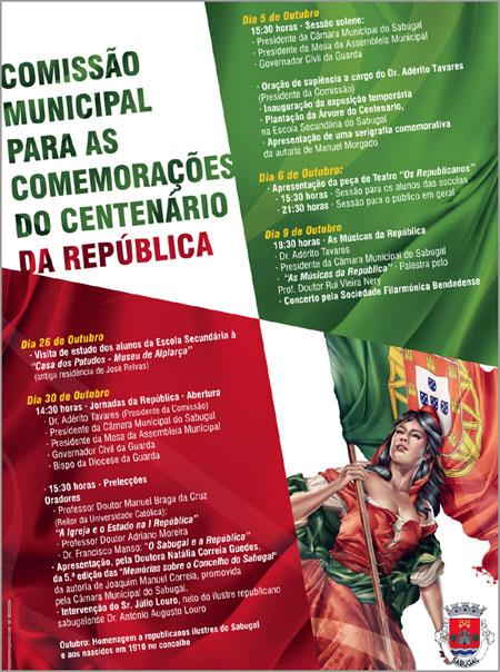 Comemorações Centenário República Sabugal