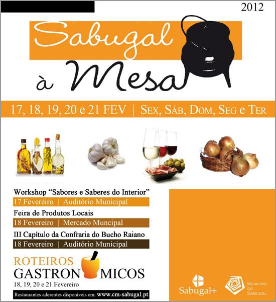 Sabugal à Mesa - Roteiros Gastronómicos 2012 - Capeia Arraiana