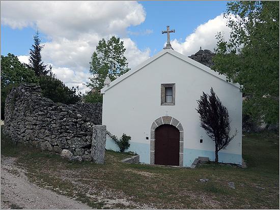 Capela de Nossa Senhora do Castelo - Bendada - Sabugal - Capeia Arraiana