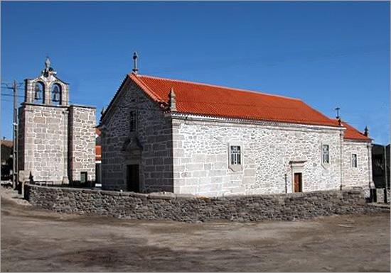 Igreja Matriz Lageosa da Raia - Capeia Arraiana