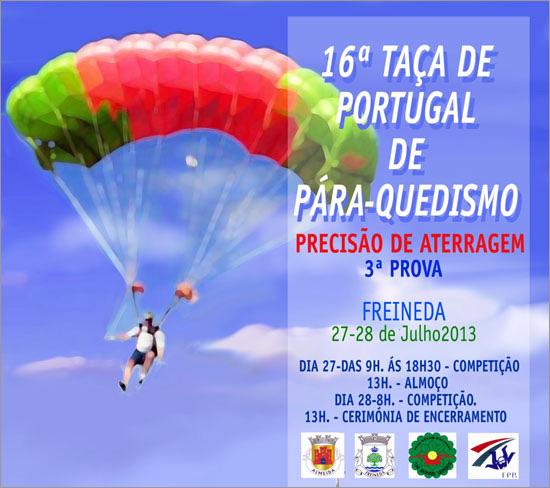 Festival de Paraquedismo na Freineda - Capeia Arraiana