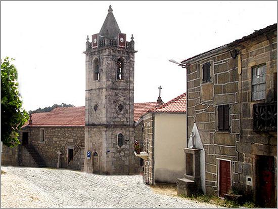 Igreja Matriz de Pousafoles do Bispo - Sabugal - Capeia Arraiana