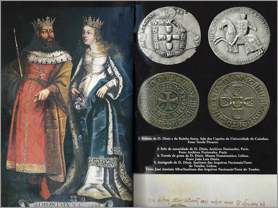 Rei D. Dinis e Rainha Santa Isabel - Capeia Arraiana