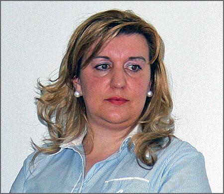 Sandra Fortuna - presidente do PS do Sabugal