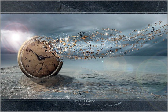 Time is Gone- Capeia Arraiana