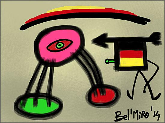Quadro de Miró
