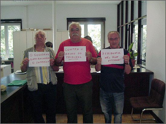 Foi em vão que Honório Santos, João Manata e João Duarte denunciaram a intenção do governo