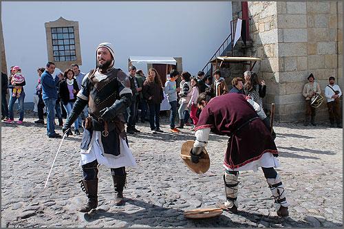 Os guerreiros animaram Castelo Mendo