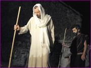 Recriação da Paixão de Cristo - Jesus impelido para o deserto - Capeia Arraiana