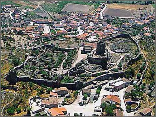 Vista aérea de Marialva