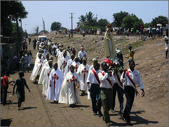 O culto a Nossa Senhora em África