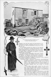 5 - Reportagem da revista «Ilustração Portuguesa» de 10 de Outubro de 1910 sobre o encerramento do Colégio de Aldeia da Ponte - Adérito Tavares - Capeia Arraiana